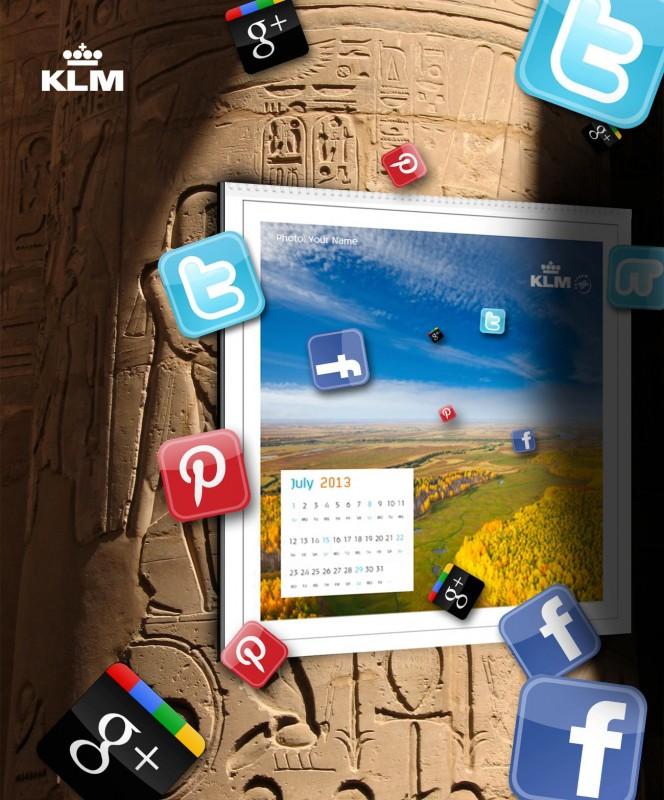 KLM Calendar - source http://on.fb.me/K829iD
