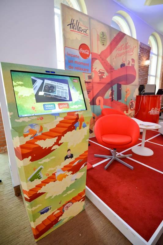 Stand interactiv_Coca-Cola HBC