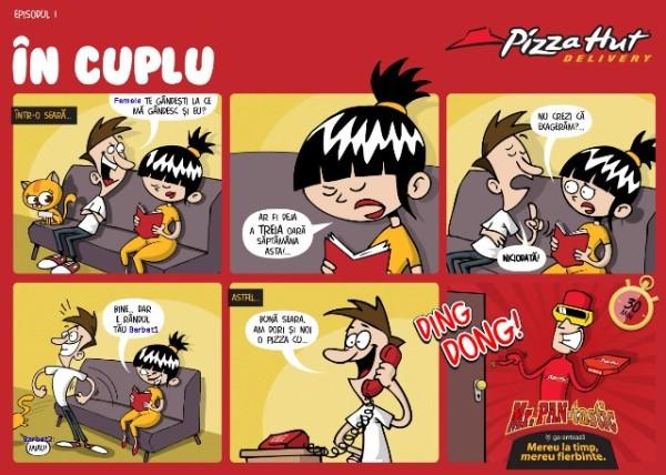 Mister Pantastic- episod benzi desenate FB