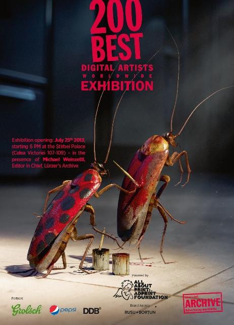 Lurzers Archive 200 Best Digital Artists Exhibition Invite