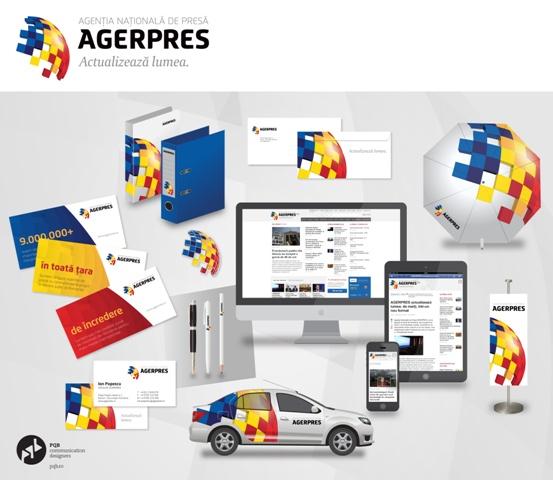 Overview noua identitate AGERPRES