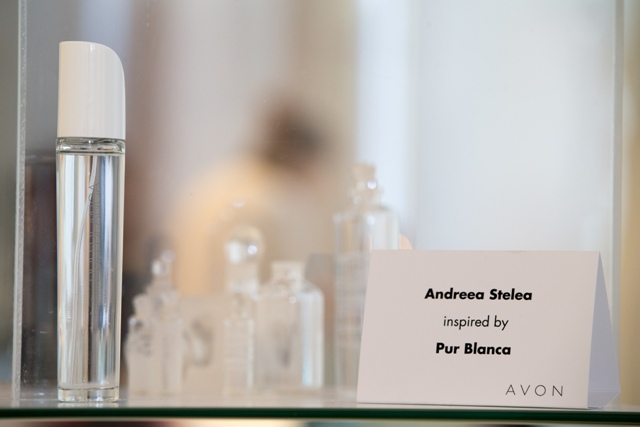 Andreea Stelea inspired by Pur Blanca
