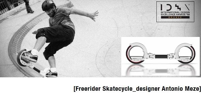 Antonio Meze_Freerider Skatecycle