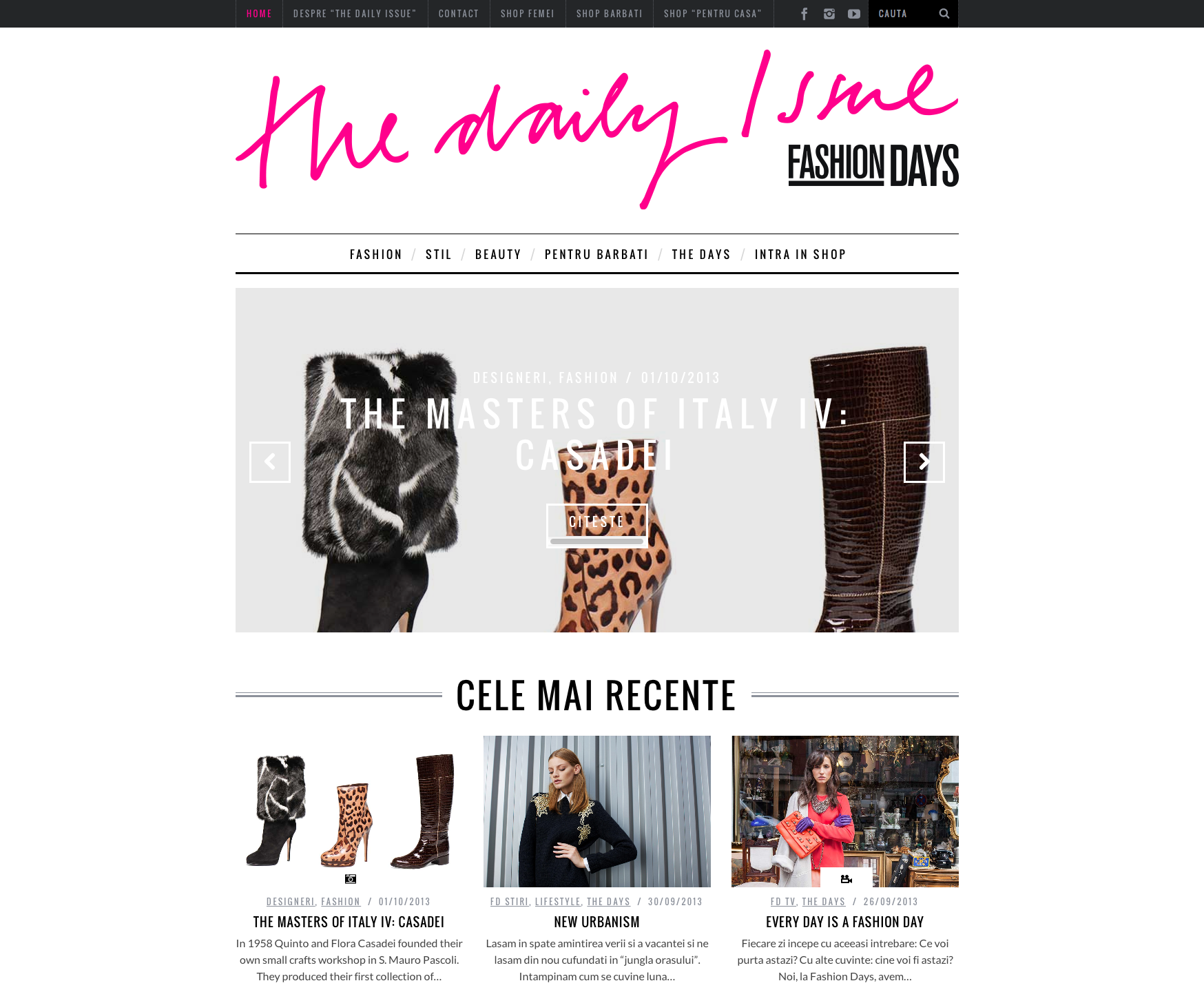Fashion Days_Screen Shot_ The Daily Issue_global