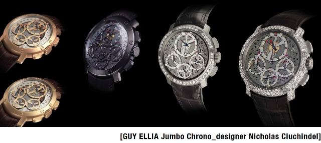 Nicholas Ciuchindel _GUY ELLIA Jumbo Chrono