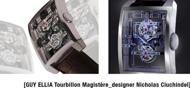 Nicholas Ciuchindel _GUY ELLIA Tourbillon Magister