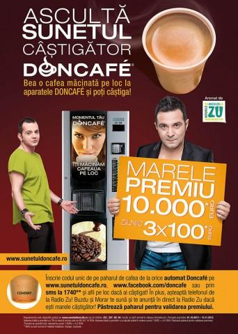 Sunetul castigator Doncafe