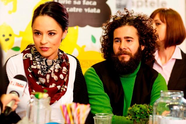 Andreea Marin si Iulian Vacarean