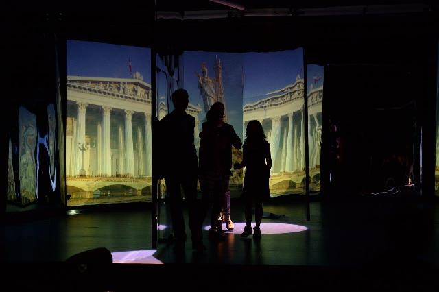 Familia europeana Dacia, prezentata cu ajutorul unei scenografii folosita in premiera pentru o lansare in Romania (2)