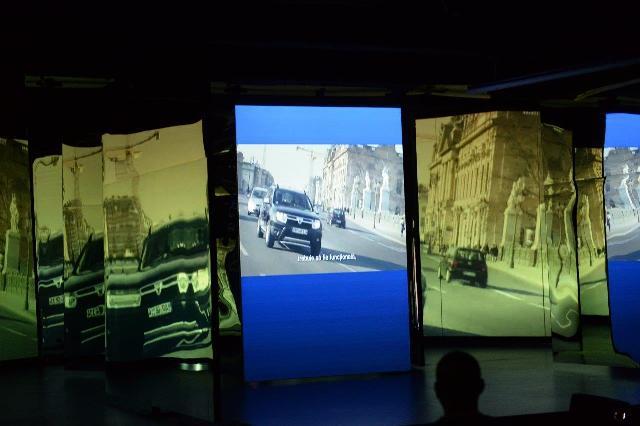 Familia europeana Dacia, prezentata cu ajutorul unei scenografii folosita in premiera pentru o lansare in Romania (3)