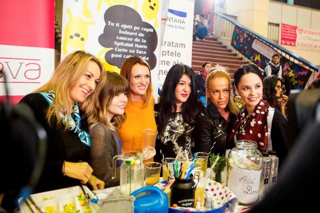 Florentina Opris, Bianca Ionita, Carmen Negoita, Mihaela Drafta, Anda Adam si Andreea Marin