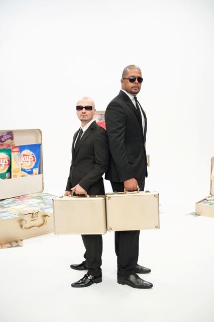 Puya si Cabral cu valiza Lay`s