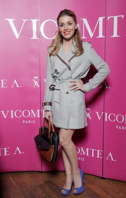 Andreea Ibacka, outfit Vicomte A. - Source: GolinHarris Bucharest