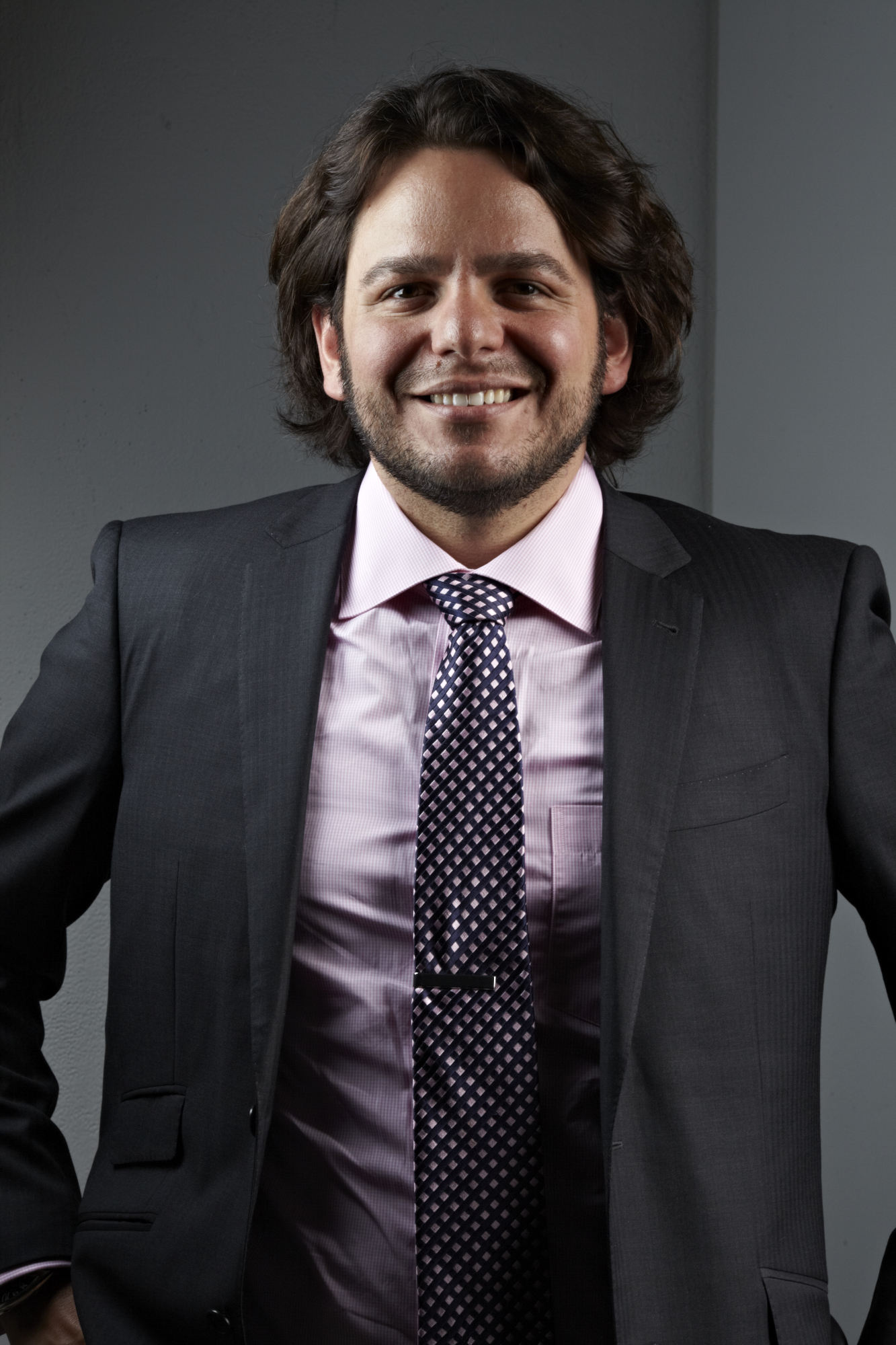 Ignacio Oreamuno, Executive Director of the Art Directors Club in New York. Photo by Monte Isom