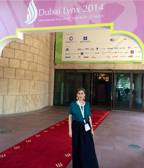 Monica Jitariuc, Dubai Lynx