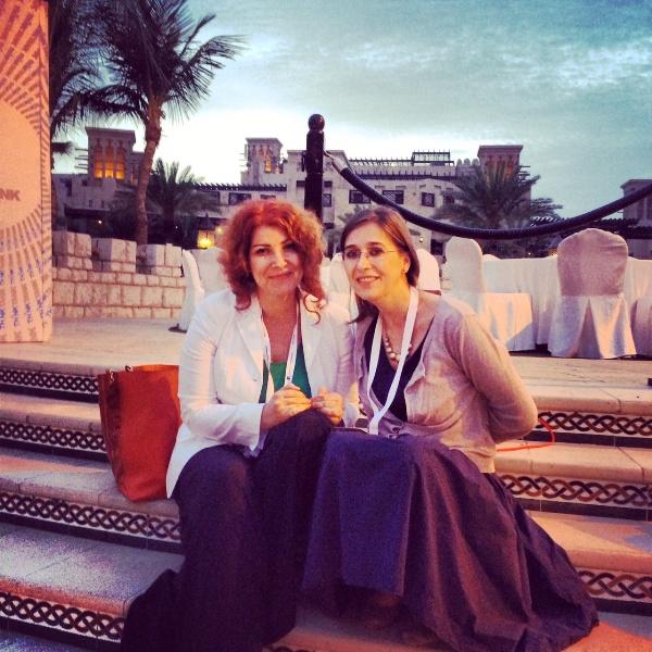 Teo Migdalovici, ambassador Dubai Lynx / Cannes Lions in Romania, and Monica Jitariuc, Managing Director The Practice
