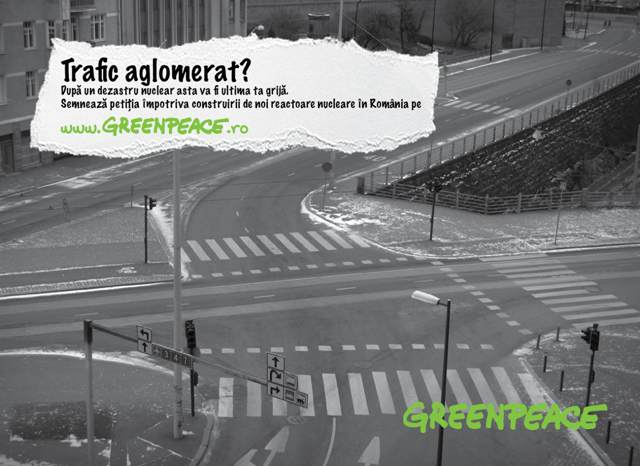 Vizual campanie Greenpeace