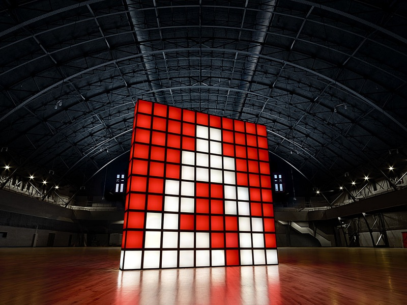 Adobe Cube Red. Source: Goodby Silverstein & Partners' BETA Group