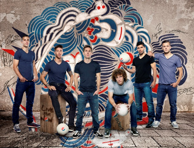 Pepsi Football 2014_echipa de staruri
