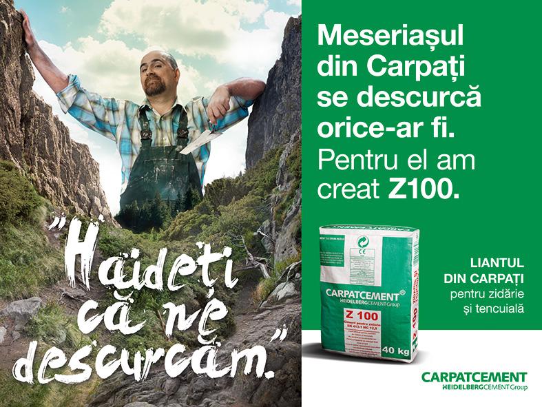 Vizual campanie Z100_Carpatcement