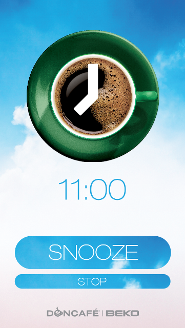 Snooze for Coffee App