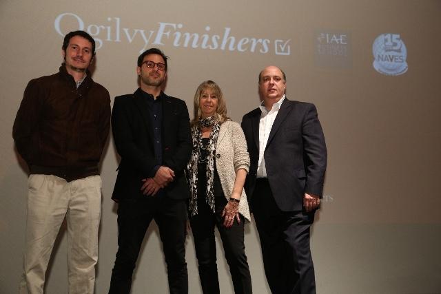 Juan Mart8n, Diego Luque, Silvia Carbonell y German Yunes