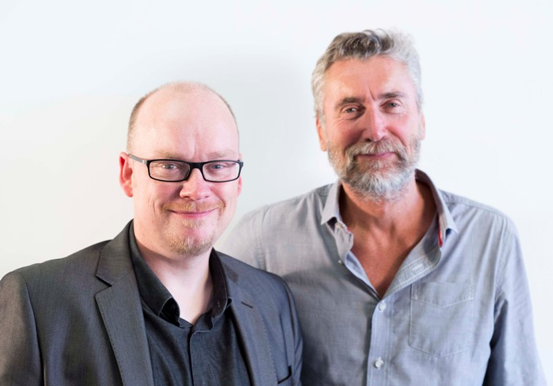 D&AD President Mark Bonner and CEO Tim Lindsay