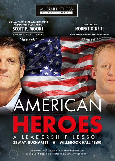 American Heroes - McCann Thiess Conferences