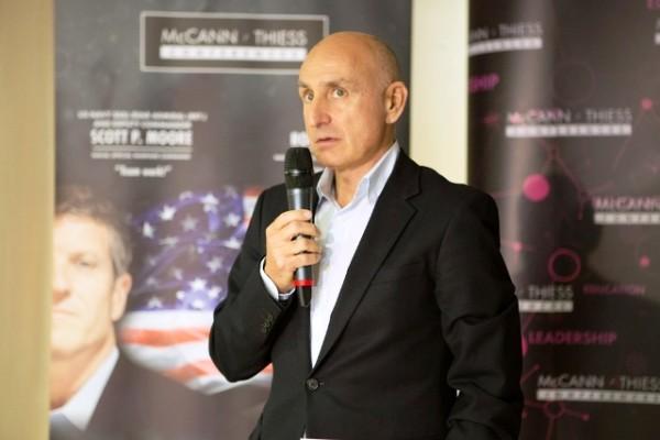 Bogdan Enoiu, General Manager McCann WorldGroup Romania