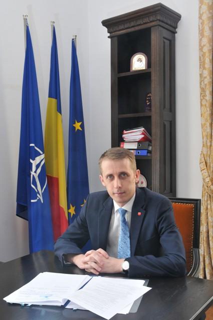 Ovidiu Portariuc, Primarul Municipiului Botosani