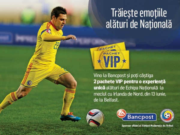 Bancpost_Echipa Nationala_Irlanda de Nord
