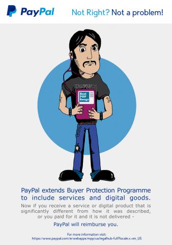 PayPal extinde programul de protectie al consumatorilor pentru a include bunurile si serviciile digitale
