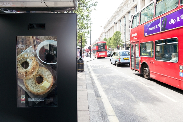 M&C Saatchi, Artificial Intelligence Poster, Oxford Street London.