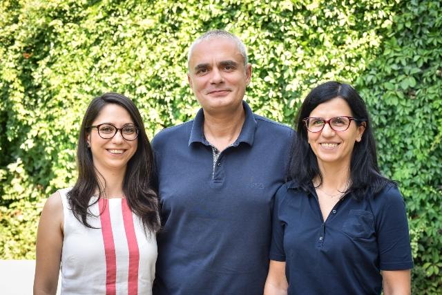 Image PR partners (L to R): Catrinel Burghelea, Alexandru Paius, Iulia Tanase