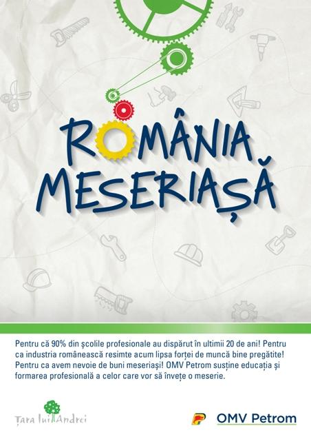 Poster Romania Meseriasa
