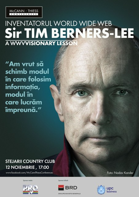 McCann Thiess Conferences - Vizual Sir Tim Berners-Lee
