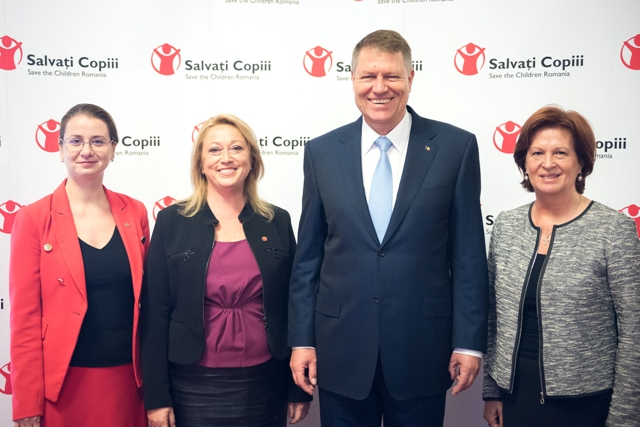 President Klaus Iohannis, Gabriela Alexandrescu,Gabriela Coman, Ligia Deca
