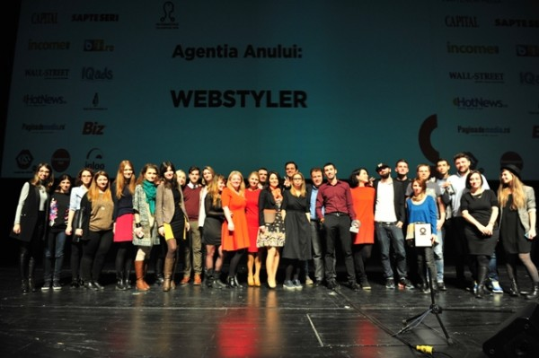Webstyler - Agency of the Year Internetics 2015