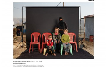 M&C Saatchi and CAFOD show the impact of war on families in a hard hitting campaign