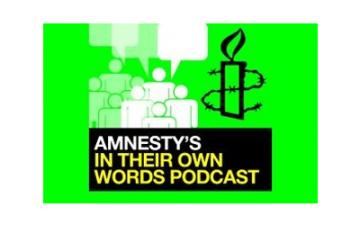 Christian Balefor Amnesty International, in podcasts usingAudio Network's original composition