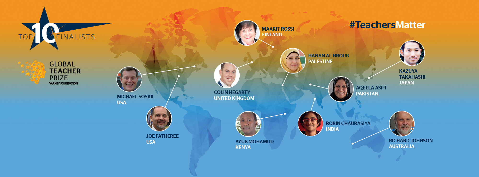 Global Teacher Prize 2016 IMAGE - Hi Res