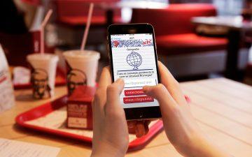 KFC Romania supports education,makes itsWi-Fi free for correct answers