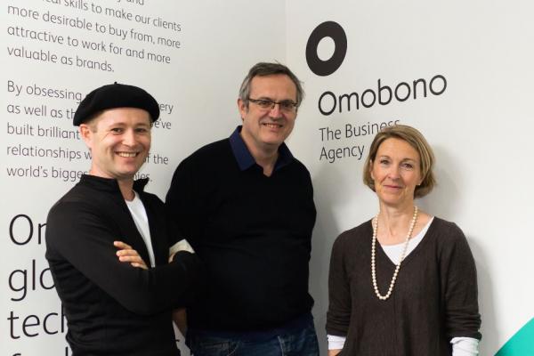 Ben Dansie, CEO, Chris Butterworth, Creative Director & Fran Brosan, Chairman