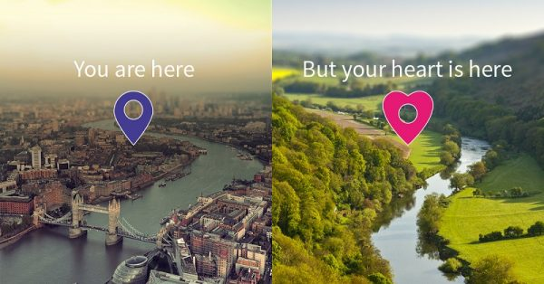 Hunterlodge OS Maps Image