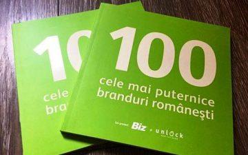 Biz magazine presented 2016's most powerful 100 Romanian brands