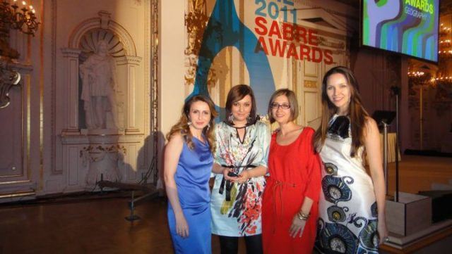 2011 - EMEA Sabre Awards
