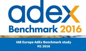 IAB's AdEx: Online advertising, up 13.4% to €18.6BN for H1 2016