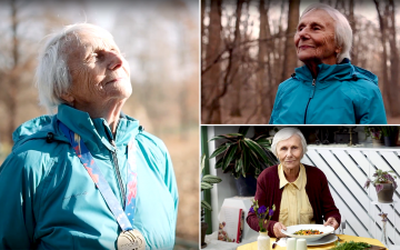 Champion at 90 years old: the story of Elena Pagu, in the new Kinecto Isobar's project for Bonduelle