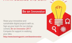 "Tech and management consultancy BearingPoint challenges students to ""Be an innovator"", offers €12,000 in prizes"