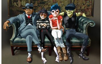 Gorillaz and Telekom Electronic Beats launched a mixed reality app